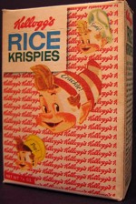 Vintage Single-Serve Rice Krispies Box