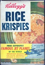 Rice Krispies Cereal Box - Jet Cutouts