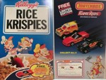 Rice Krispies Matchbook Flame Rods