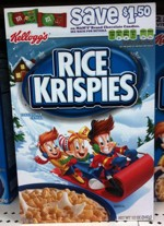 Winter 2010 Rice Krispies Box