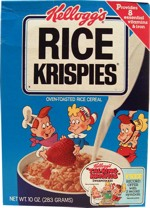 1984 Rice Krispies Cereal Box
