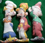Rice Krispies Cloth Dolls