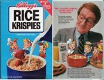 Rice Krispies Cereal Box