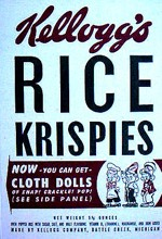1948 Rice Krispies Cereal Box