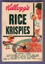Rice Krispies One-Ounce Box