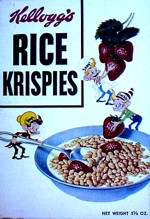 1953 Rice Krispies Cereal Box