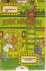 Rice Krispies Joke Machine Card