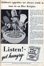 1933 Rice Krispies Magazine Ad