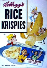 Rice Krispies Box - Howdy Doody Puppets