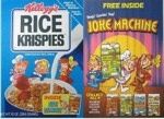 Rice Krispies Joke Machine