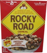 Rocky Road Cereal Box