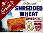 Shredded Wheat Box - Name Ring