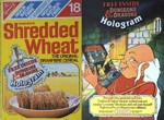 Shredded Wheat D&D Hologram Box