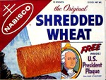 Shredded Wheat Box - President Plaque