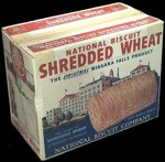 National Biscuit Shredded Wheat Box