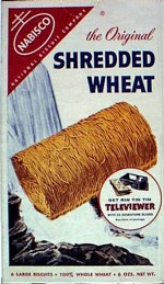 Shredded Wheat Box - Televiewer