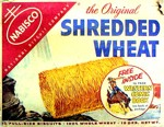 Shredded Wheat - Western Comic