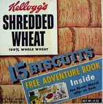 Shredded Wheat Box - Adventure Book