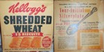 Vintage 15 Biscuit Shredded Wheat Box
