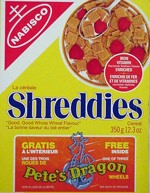Nabisco Shreddies Box - Canadian