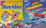 Shreddies James Bond Jr. Box