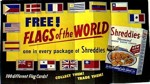 Shreddies Flags Of The World