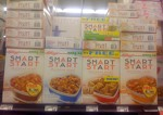 Smart Start Cereal Boxes