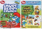 Smurf Berry Crunch - Stickers