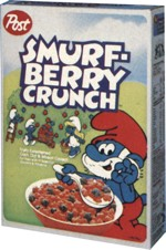 Smurf-Berry Crunch Box