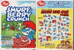 Smurf-Berry Crunch Rub Ons