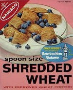 Spoon Size Shredded Wheat - Hero Statue