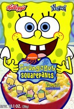 SpongeBob Cereal Box
