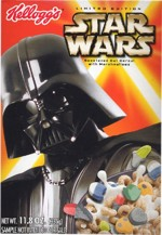 Darth Vader Star Wars Episode III Cereal Box