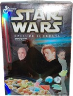 Star Wars Episode II Cereal Box - Anakin