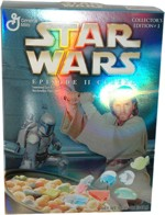 Star Wars Episode II Cereal Box - Obi