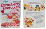Strawberry Shorcake Cereal Box