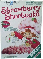 1982 Strawberry Shortcake Cereal Box
