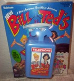 Bill & Ted Cereal With Phone Booth Case