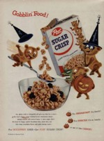 Sugar Crisp Gobblin' Food Ad