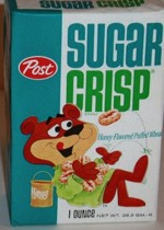 Sugar Crisp Single Serving Box