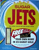 Sugar Jets Cereal Box - Gold Signature