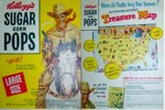 Sugar Corn Pops Treasure Map Box