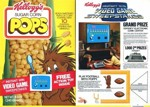 Sugar Corn Pops Video Game Box