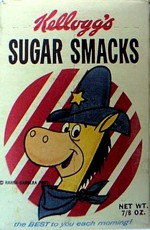 Quick Draw McGraw Single-Serving Sugar Smacks
