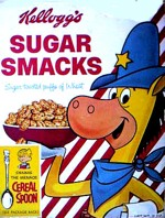 Quick Draw McGraw Sugar Smacks Box