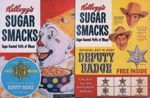 Sugar Smacks Deputy Badge Box