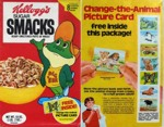 Sugar Smacks Change-The-Animal
