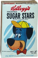 Frosted Sugar Stars Cereal Box - Small
