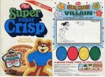 Super Sugar Crisp Create A Villain Box