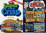 Super Sugar Crisp Super Heroes Box